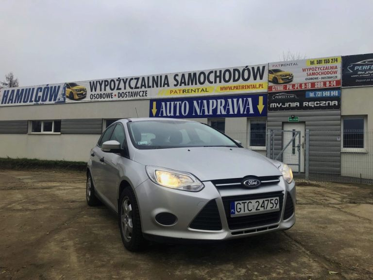 Ford Focus MK3 Benzyna