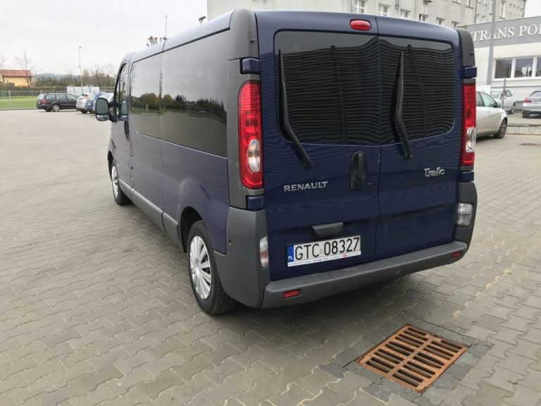 Renault Traffic 9 2,5 DCI Van
